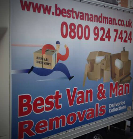 van and man hire london